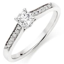white gold engagement rings uk 9ct white gold diamond ring 0011841 beaverbrooks the jewellers