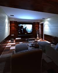 Home Theatre Interior Design Pictures by 3d Model Home Theater Interior Cgtrader