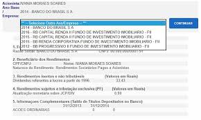 demonstrativo imposto de renda 2015 do banco do brasil como consultar o informe de rendimentos bb para o ir 2018
