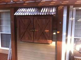 Wall Mounted Tv Cabinet With Doors 17 Best Wall Mounted Tv Barn Doors Images On Pinterest Outdoor