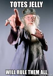 Totes Jelly Meme - totes jelly will rule them all dumbledore meme generator