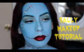 Nightmare Before Christmas Halloween Makeup by Sally Nightmare Before Christmas Halloween Makeup Tutorial Youtube