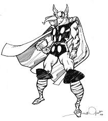 thor printable coloring pages coloring pages