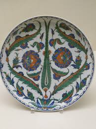 Ottoman Pottery File Cypress Tree Decorated Ottoman Pottery P1000589 Jpg
