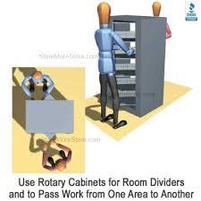 File Dividers For Filing Cabinet Rotary File Shelf Cabinet Five Shelf Rotating Filing Storage