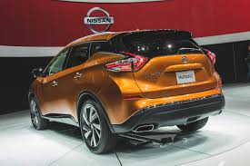 nissan murano old model 2014 new york the 2015 nissan murano gets a striking new design