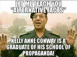 Anne Meme - let me teach you alternative facts kelly anne conway is a graduate
