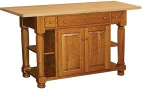 amish roseburg island with two drawers and two doors kitchen islands frederick md