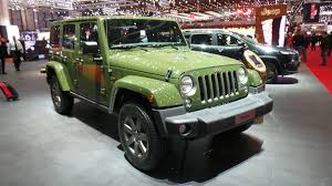 jeep wrangler front jeep celebrates 75th anniversary models at geneva auto express