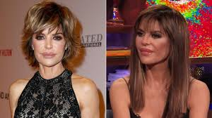 lisa rinna current hairstyle lisa rinna ditches her signature bob for longer locks see the s
