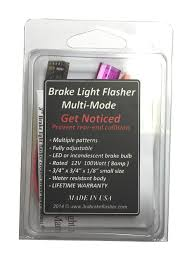 amazon com vehicle brake light flasher module safety flash light