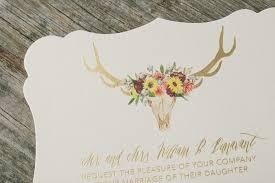 bohemian wedding invitations gold foil bohemian wedding invitations figura