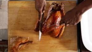 how to carve a turkey food network shows cooking and recipe