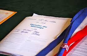 dossier mariage civil tã lã charger etat civil etat civil