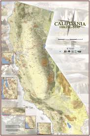 Chico State Map Map Shows Nearly Every Single Hiking Trail In California Curbed Sf