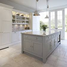 beadboard kitchen island kitchen transitional with stone flooring