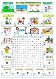 easy thanksgiving word search 189 free esl seasons worksheets