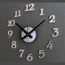 Design Home Decor Wall Clock by Compare Prices On Modern Clock Simple Online Shopping Buy Low