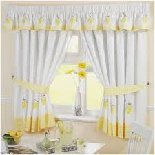 Kitchen Curtains Uk by Kitchen W Shaped Tie Up Curtain Awesome Kitchen Curtains Yellow
