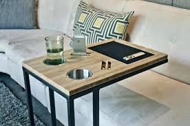 plateau pour canapé tablette pour canape plateau pour canape accessoires canapac noir