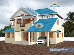Home Designing 3d by Beautiful Home Elevation Design In 3d Kerala Home Design And