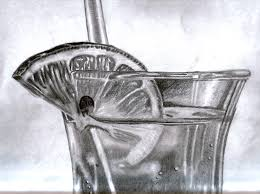 cocktail pencil drawing by danbergundy on deviantart