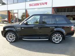 used black land rover range rover sport for sale cheshire