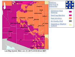 Las Vegas Walking Map by What U0027s Causing The Extreme Heat In The Southwest