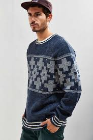390 best t shirts ab pendleton san miguel crew neck sweater in blue for lyst