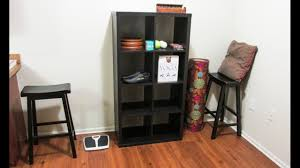Kallax Ikea Kallax Shelving Unit 2x4 Cubes Assembly Detailed Youtube