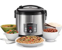 hamilton beach 37541c digital simplicity rice cooker and food