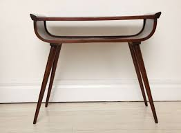 Mid Century Console Table Mid Century Modern Walnut Console Table At Stdibs 2017 With