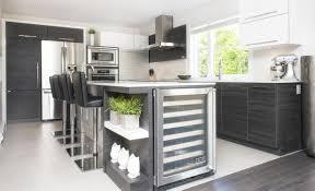 cuisine design en u armoires de cuisine design le de rail de la lumière trois