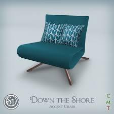 Aqua Accent Chair Second Marketplace Sf The Shore Accent Chair Aqua