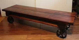 industrial tables for sale coffee table diy coffee table on wheels using pallets industrial
