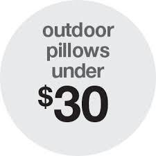 Lumbar Patio Pillows Outdoor Pillows Target