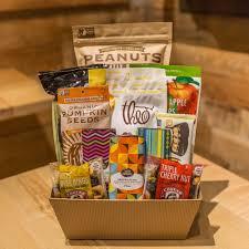 vegan gluten free snacks and gift basket simply seattle