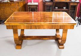 1930 Dining Table Antique Deco Burr Walnut Dining Table Circa 1930 At 1stdibs