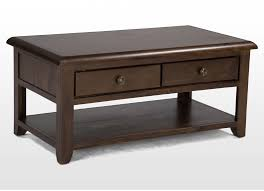 Coffee Tables With Drawers by Classic Solid Coffee Table With Two Drawers Valentia