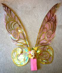 light up fairy wings cellophane tinkerbell wings tutorial erin st blaine