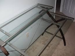 Glas Desk Modern Glass Desk Office And Decor With Regard To Glass Desk