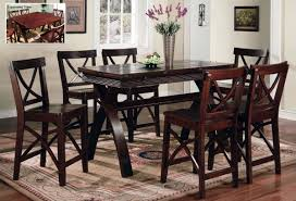 Top Dining Room Sets Round Table Style Home Design Amazing Simple - Pub style dining room table