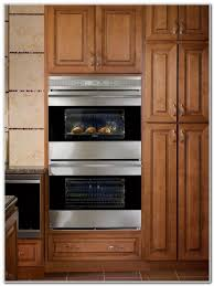 Double Wall Oven Cabinet Rta Wood Cabinets Online Kitchen Cabinet Blog