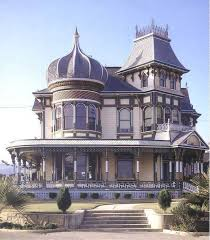 Queen Anne Style Home American Victorian Architechture Queen Anne Victorian Mansion