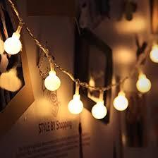 guirlande lumineuse pour chambre gledto 4m led guirlande lumineuse à piles petits boules blanc chaud