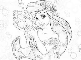 disney princess coloring pages ariel disney coloring pinterest