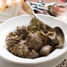 cuisiner les rognons de veau recette rognons de veau flambés à la moutarde