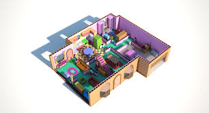 i wanted to practice making 3d floor plans so i thought the