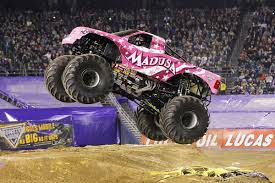 what time is the monster truck show work out like a monster jam driver