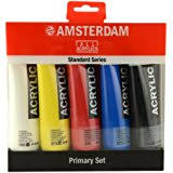 amazon com amsterdam acrylic standard tubes set of 24 20ml
